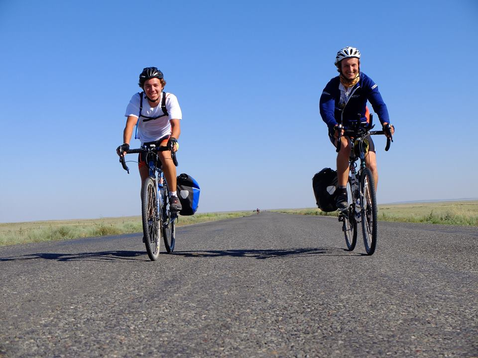 Bicycle touring along the old Silk Road route from Beijing to Tehran