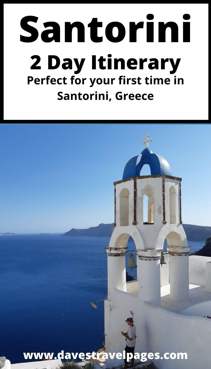 2 days in Santorini itinerary - Top things to do
