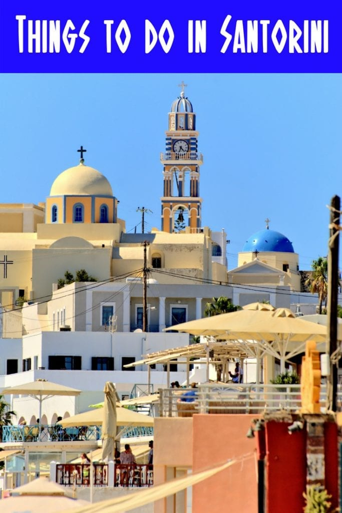 The top things to do in Santorini, Greece