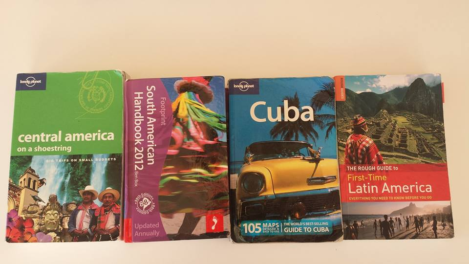 Guidebooks for travel - Are they now a thing of the past?
