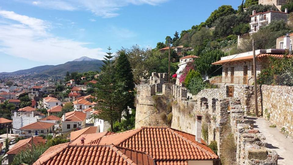 The views from Nafpaktos castle