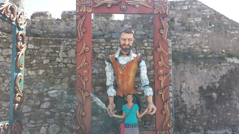 Here is one of the puppets from the Nafpaktos Battle of Lepanto celebrations. You can decide which one I am referring to!