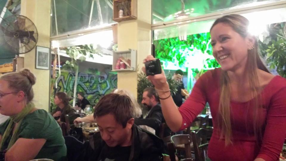 Finding love on the road - a memorable meal on the Rebetiko tour!