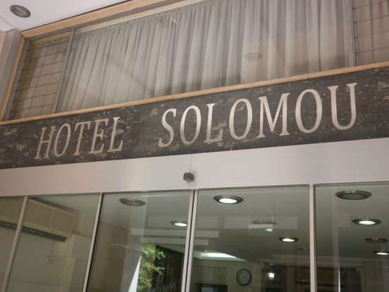 Hotel Solomou in Athens