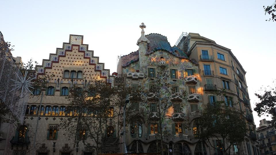 The Gaudi Casa Batlló is one of the reasons to visit Barcelona in December