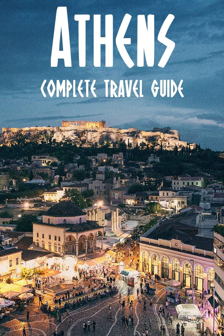 Athens Greece: The Ultimate Athens guide - What to do, where to stay and what to see when in Athens, Greece.