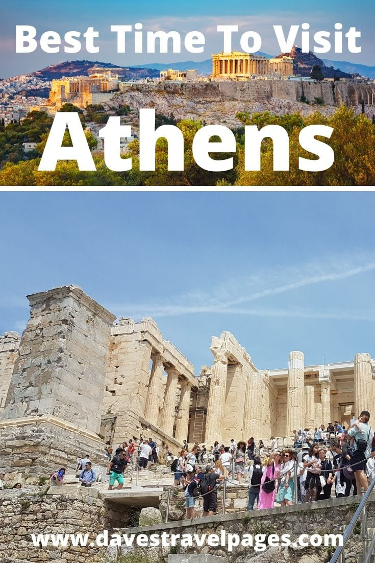 The best time to visit Athens, Greece
