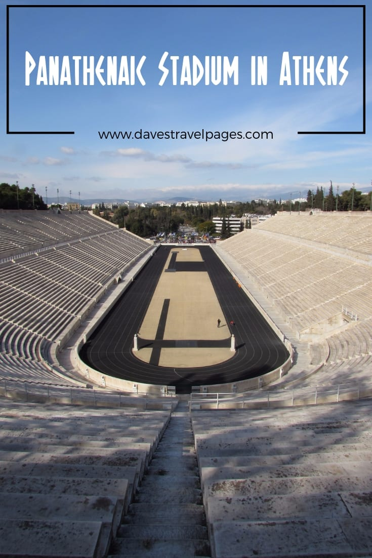 The Panathenaic Stadium in Athens is a must see for anyone interested in the Olympic Games!