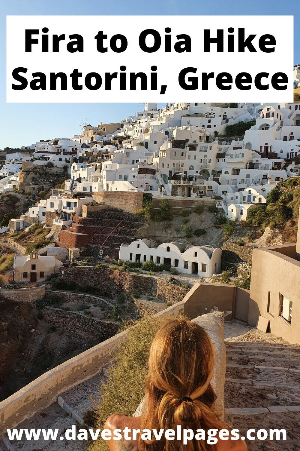 How to hike from Fira to Oia in Santorini, Greece