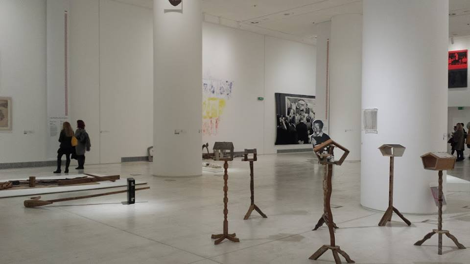 Inside the National Museum of Contemporary Art in Athens