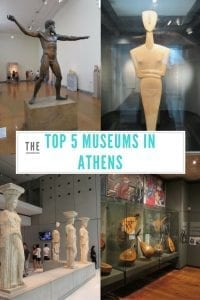 The Top 5 Museums in Athens, Greece.