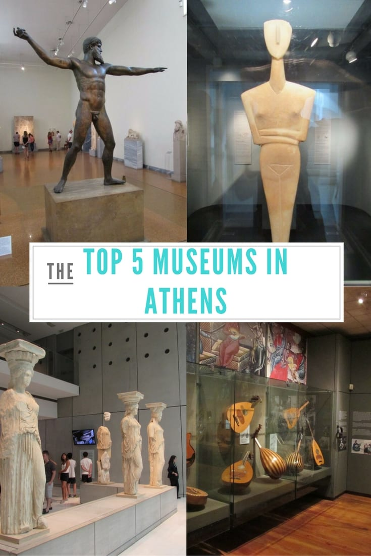 Athens Museums Guide: The Top 5 Museums in Athens, Greece.