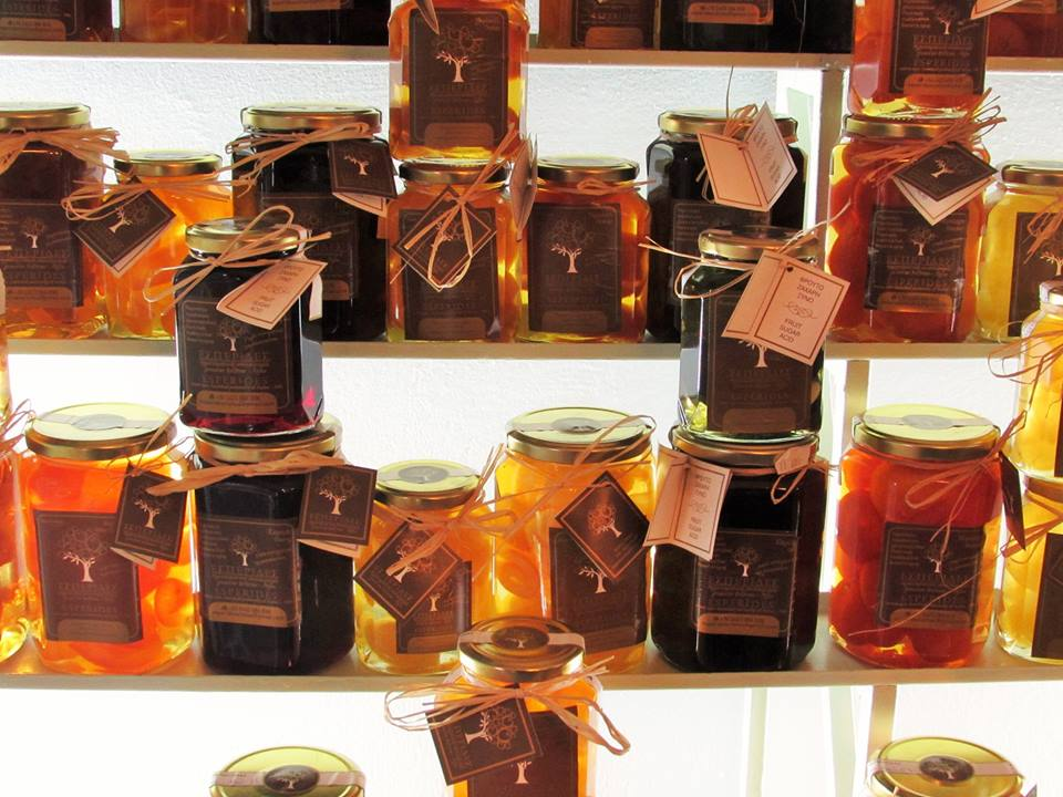 Jams and preserves from Pelion
