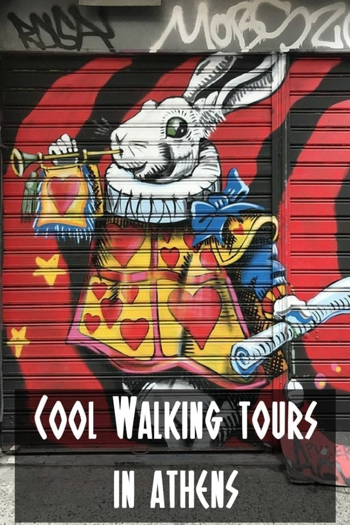 The top cool walking tours in Athens. Visit ancient Athens and see vibrant street art as you walk around the capital of Greece!