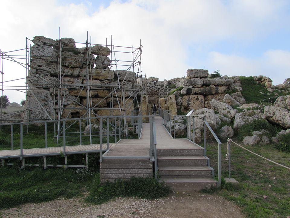 The Ggantija temples of Malta