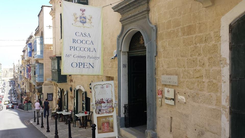 Cassa Rocca Piccola in Valletta, Malta