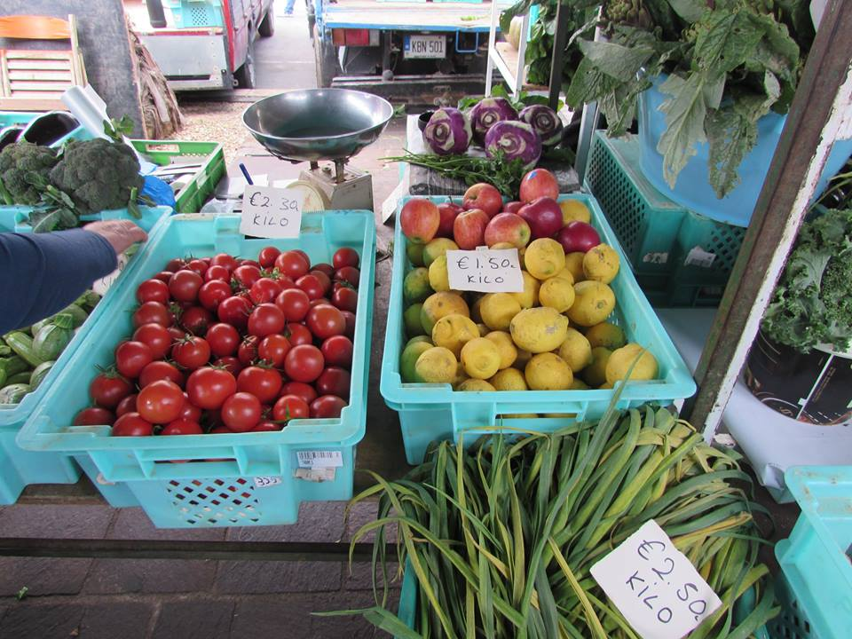 Fruit and veg in Marsaxlokk