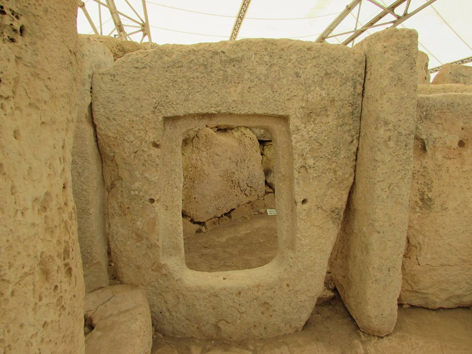 The Megalithic Temples of Malta Hagar Qim and Mnajdr