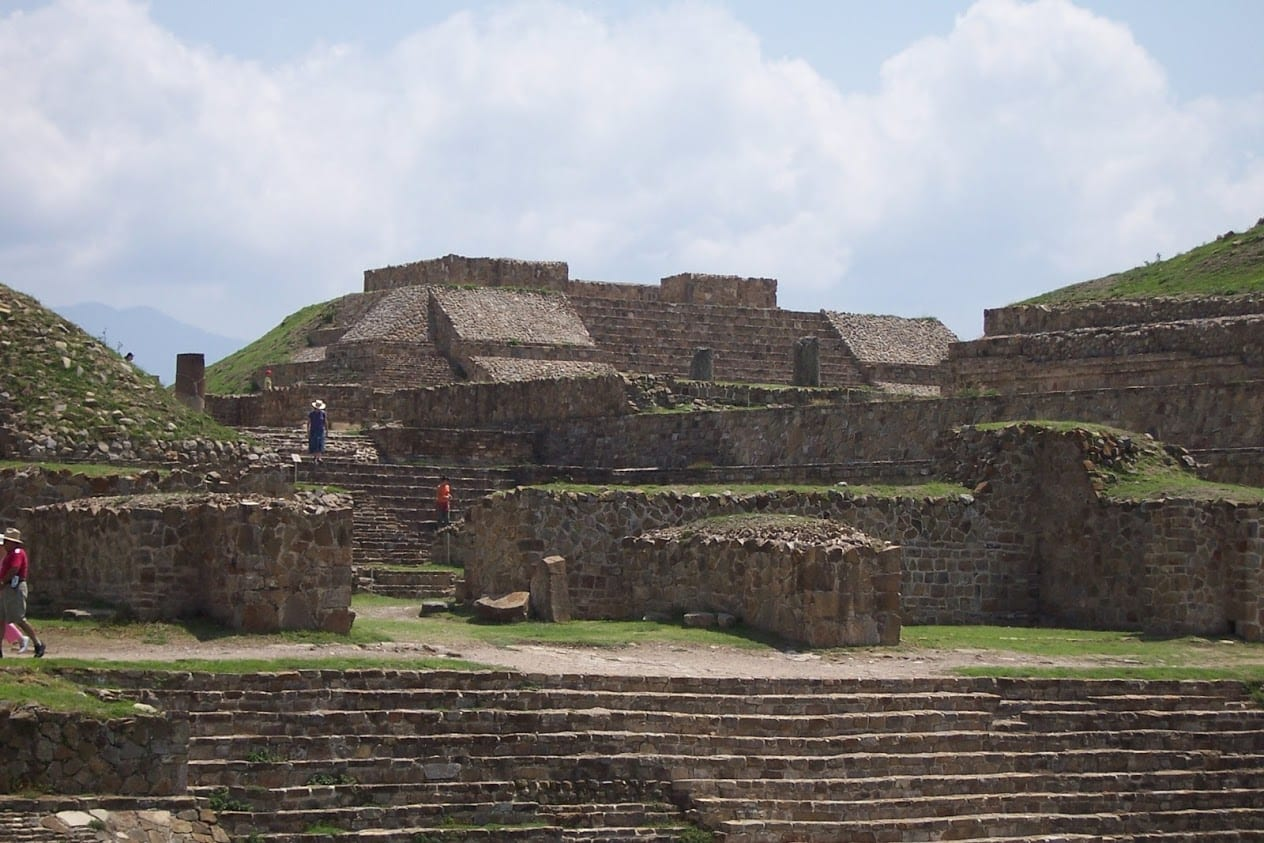 Mysterious Monte Alban in Mexico