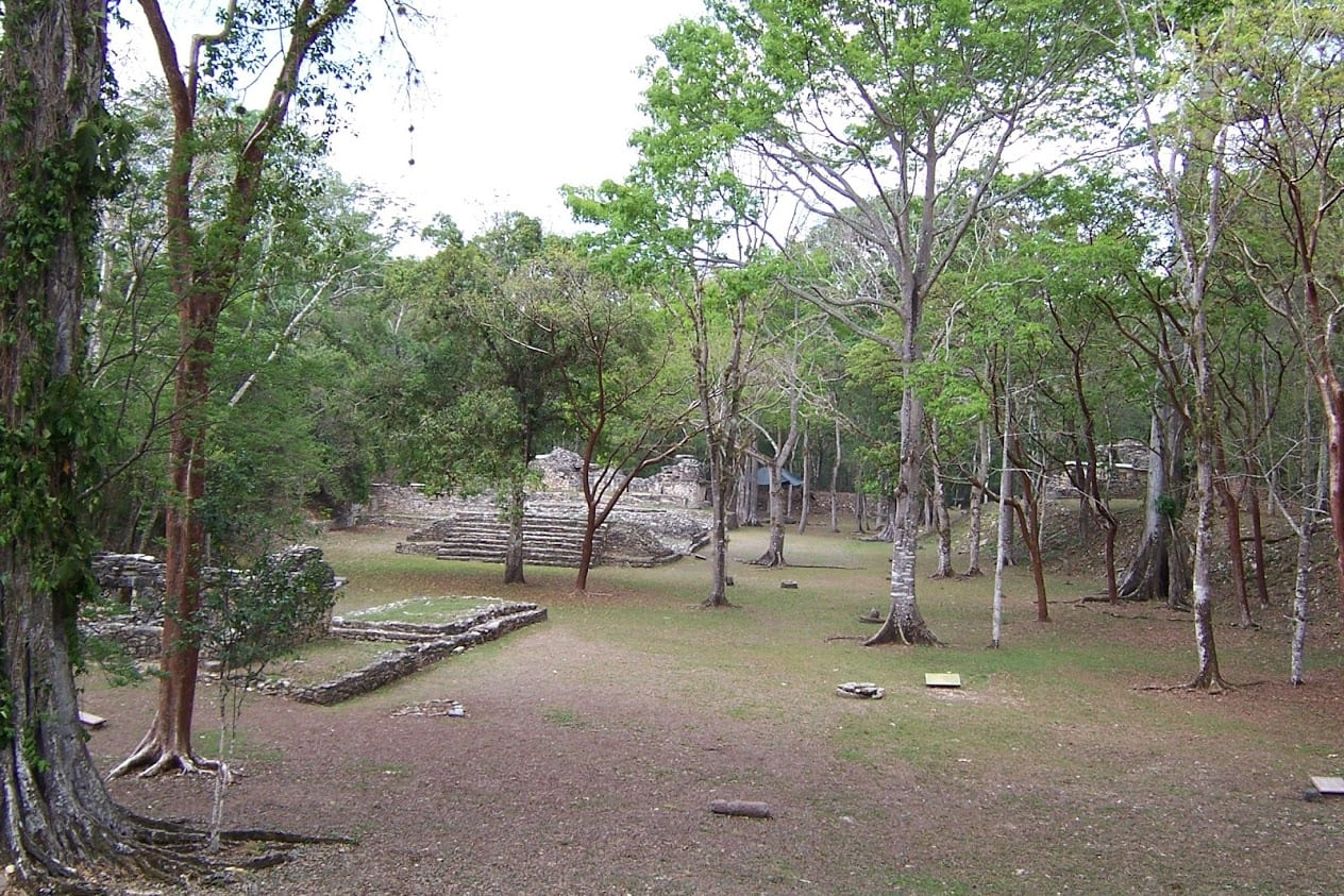 Yaxchilan in Mexico