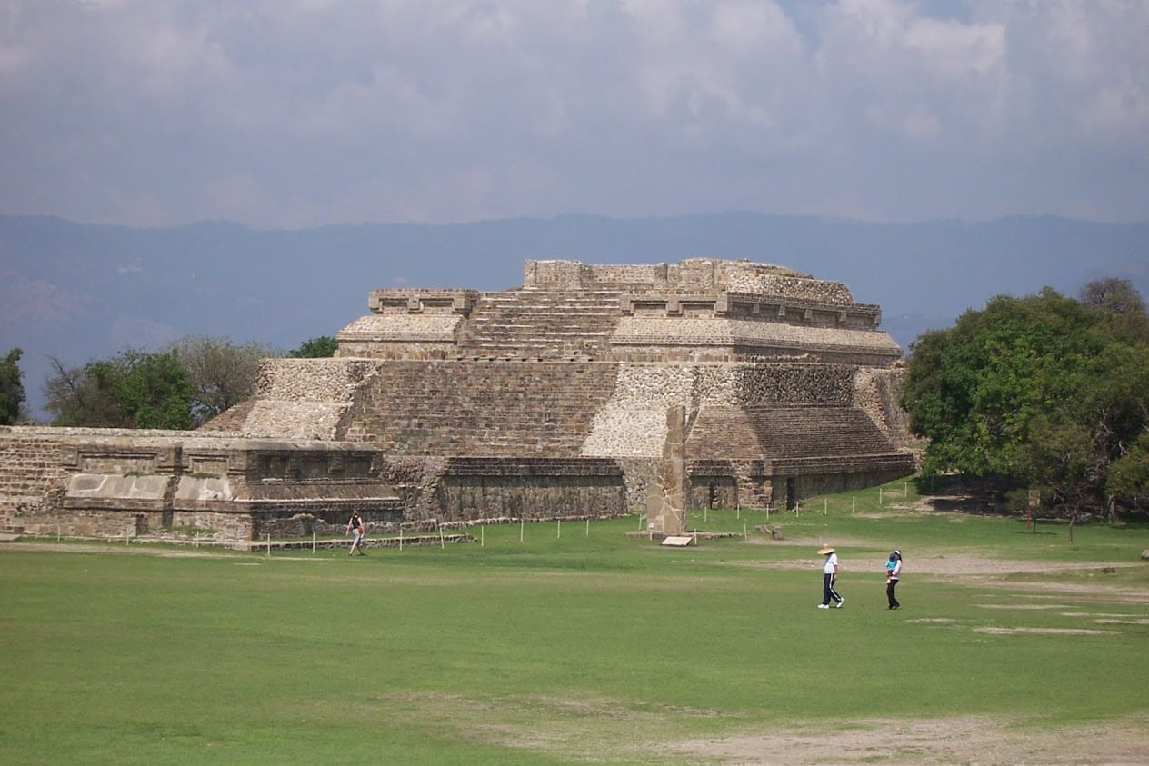 Monte Alban archaeological site