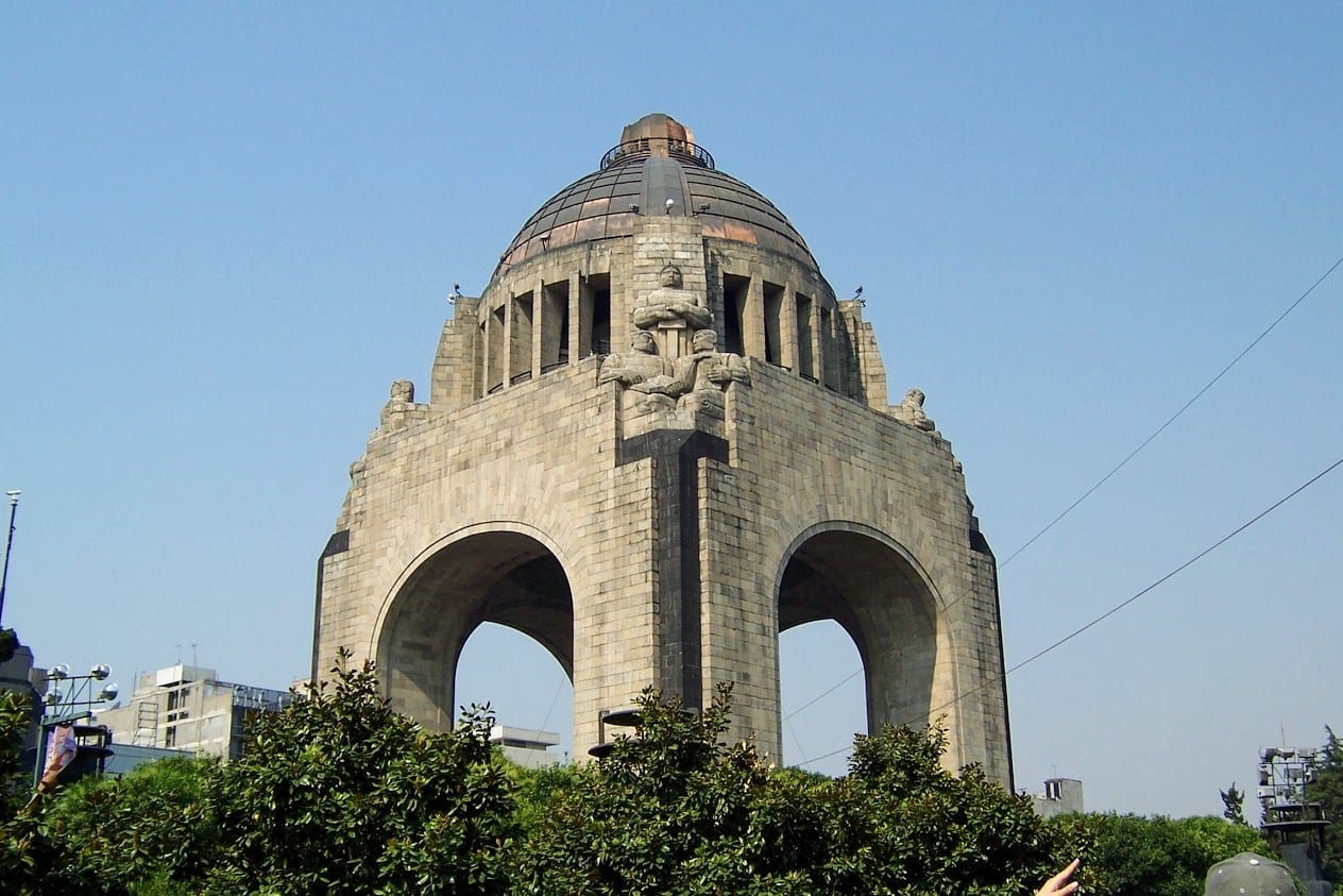 Plaza de Republica in Mexico City