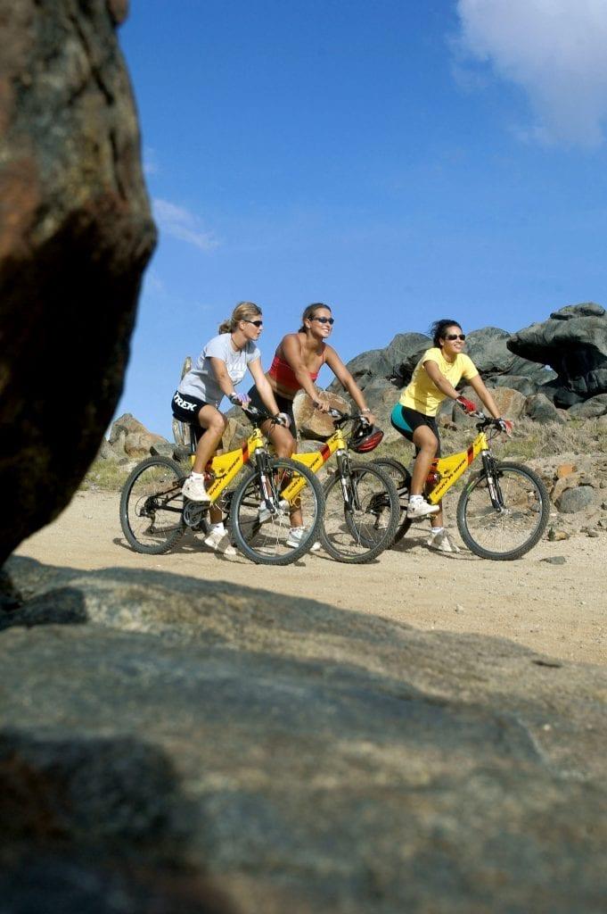 Cycling in Aruba
