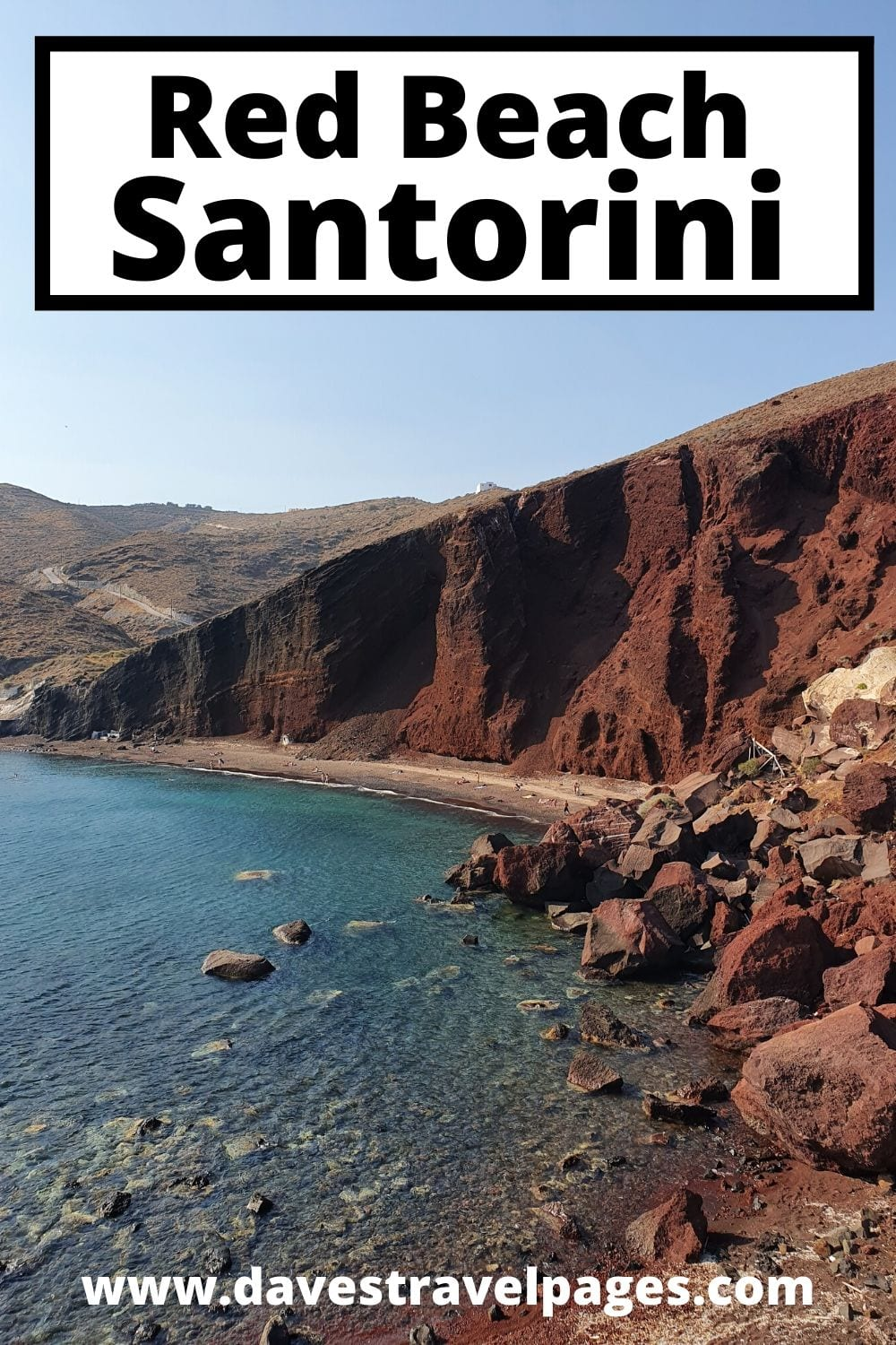 Red Beach Santorini - Information on how to get to Red Beach Santorini, is red beach safe, and more.