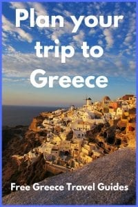 Signup for free travel guides to Athens and Greece