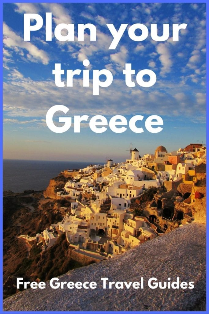 Plan your trip to Greece in Europe with these free Greece travel guides.