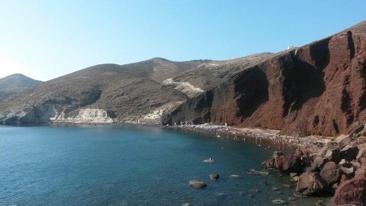 Red Beach Santorini (Kokkini Paralia)