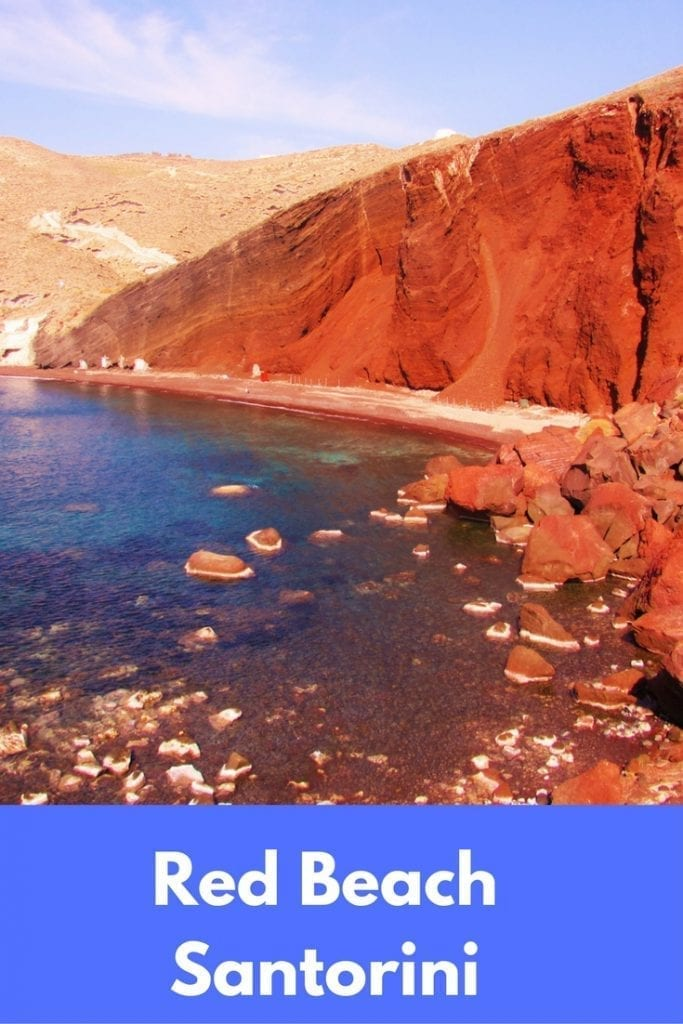 Red beach Santorini - Everything you need to know about the most famous beach on the Greek island of Santorini