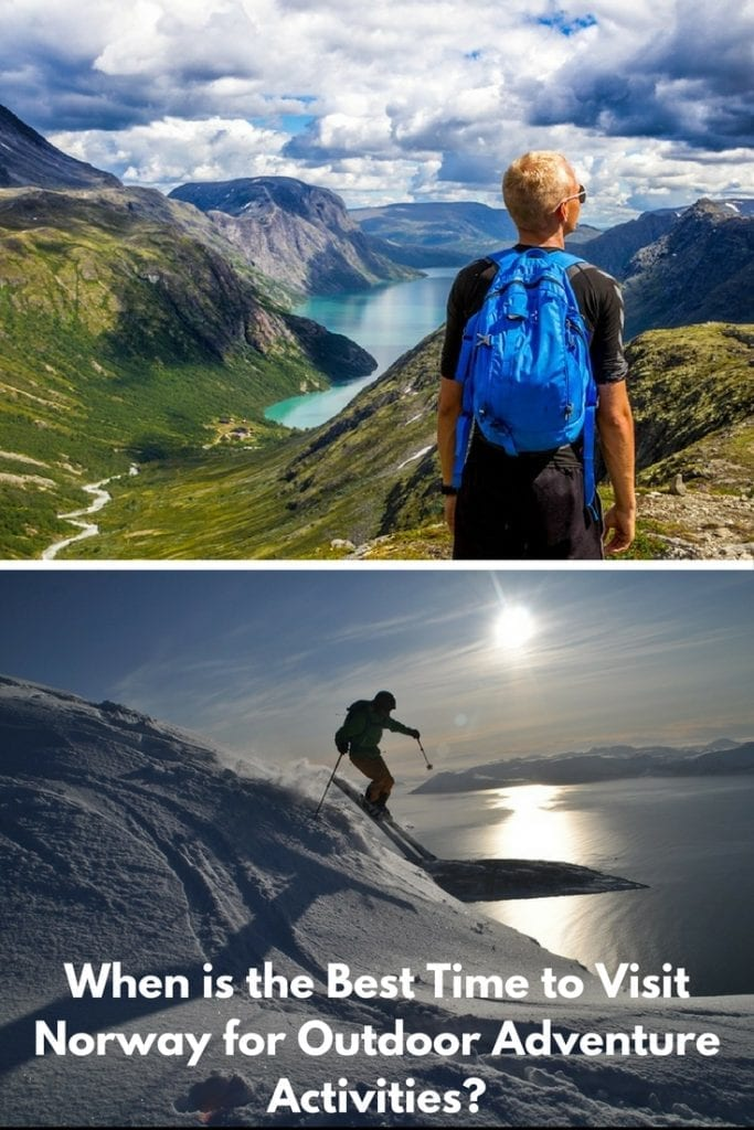When is the best time to visit Norway for outdoor adventure activities?