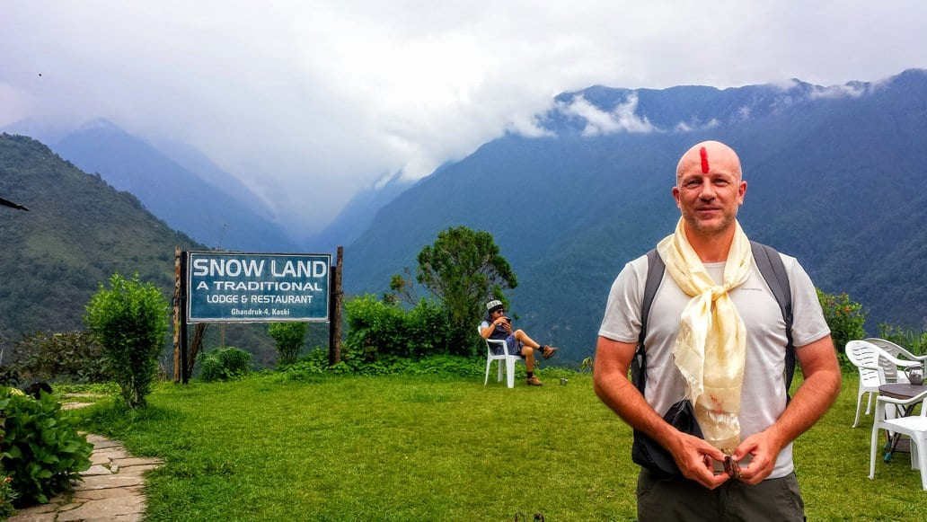 Dave Briggs in Nepal