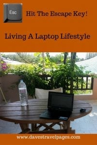 Living a laptop lifestyle - How to earn money online as you travel
