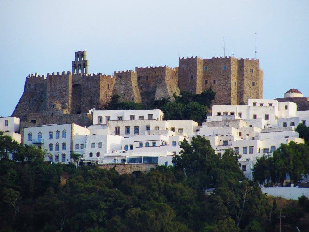 The Monastery on Patmos island