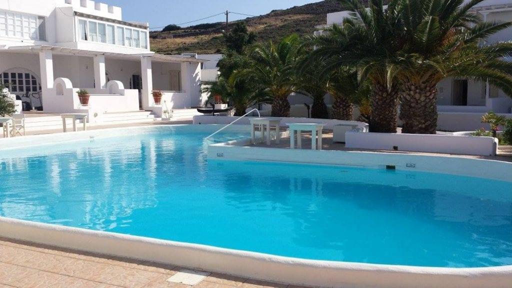 Porto Scoutari Hotel on Patmos