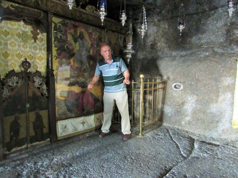 Inside the Cave of the Apocalypse Patmos