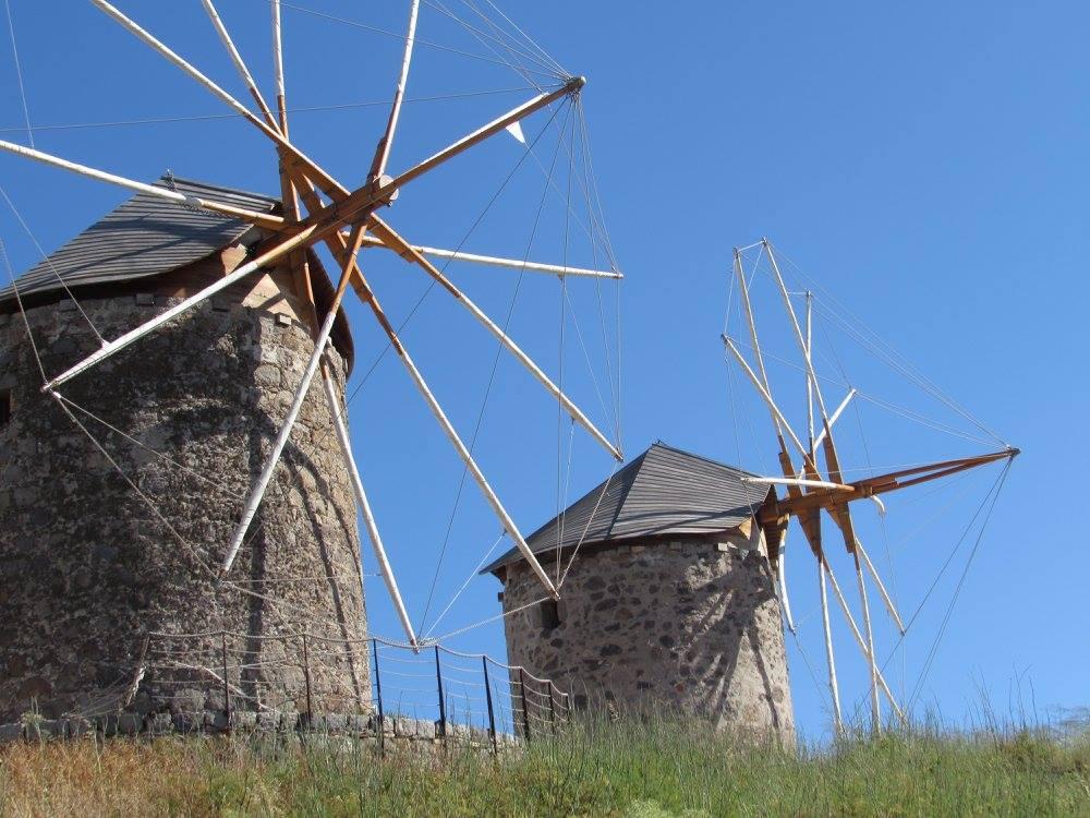 The windmills of Patmos