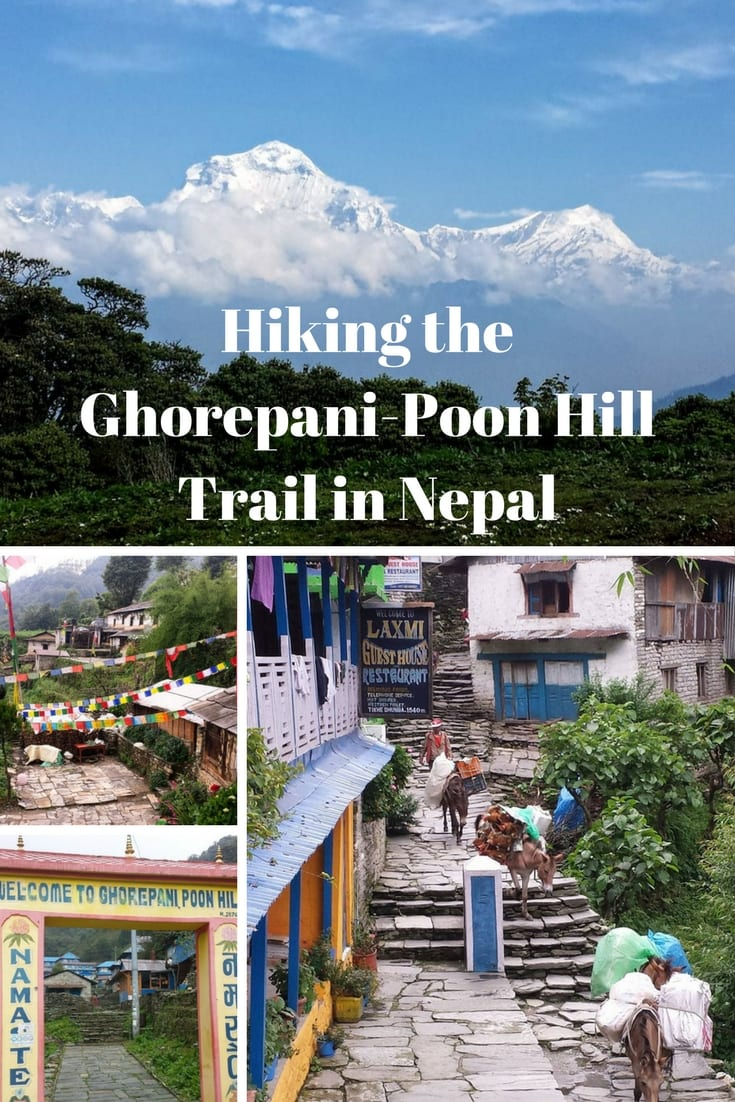 Hiking the Ghorepani-Poon Hill Trail in Nepal