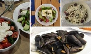 In search of the best restaurant in Patmos, Greece