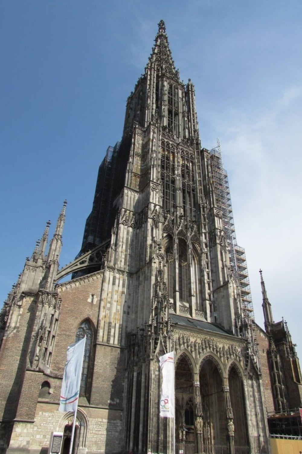 The magnificent Ulm Minster. A central focal point and must see when visiting Ulm, Germany.