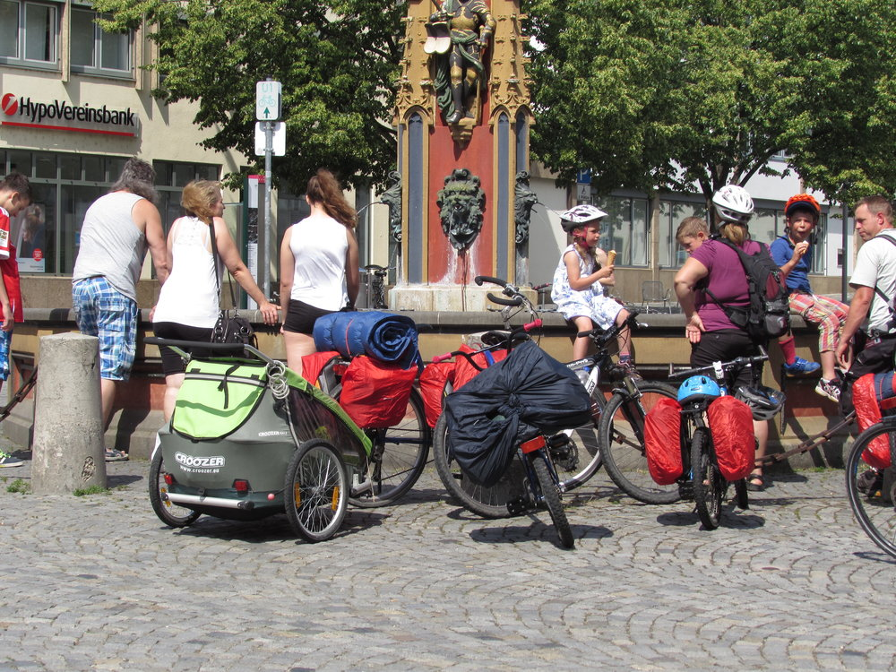 The Danube to Lake Constance cycle route in Germany