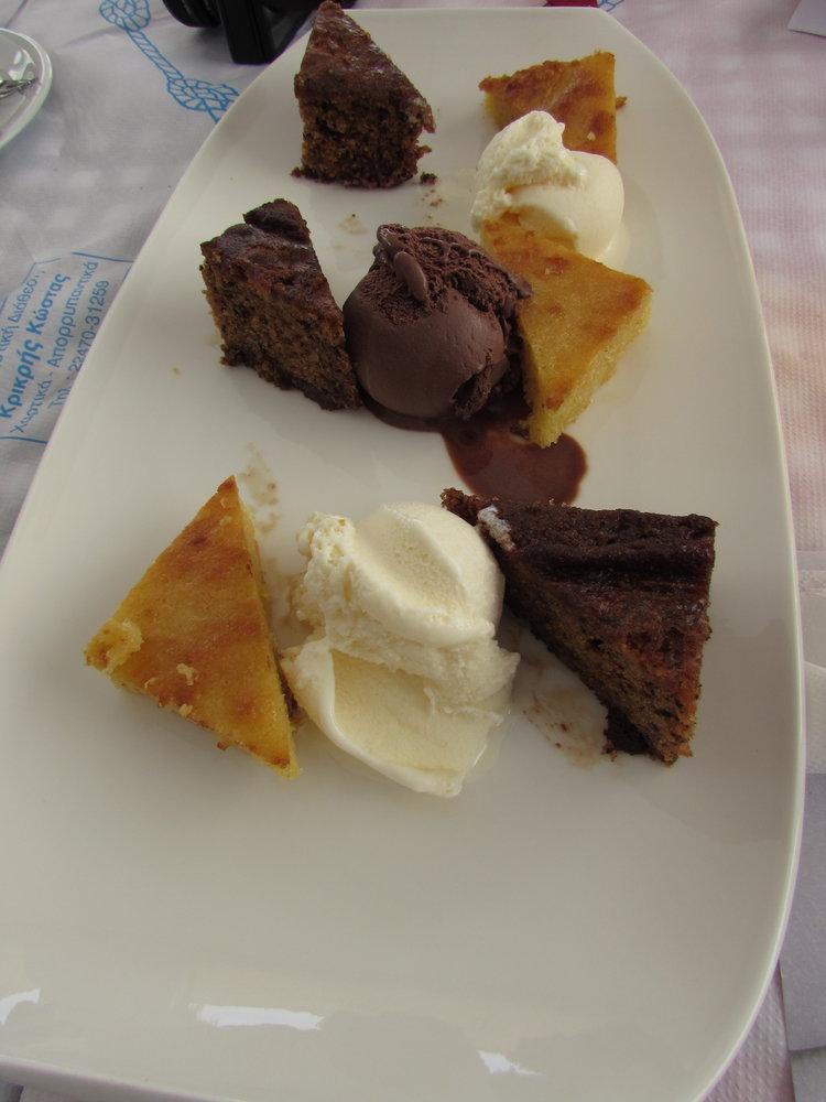 Ice cream time in Patmos