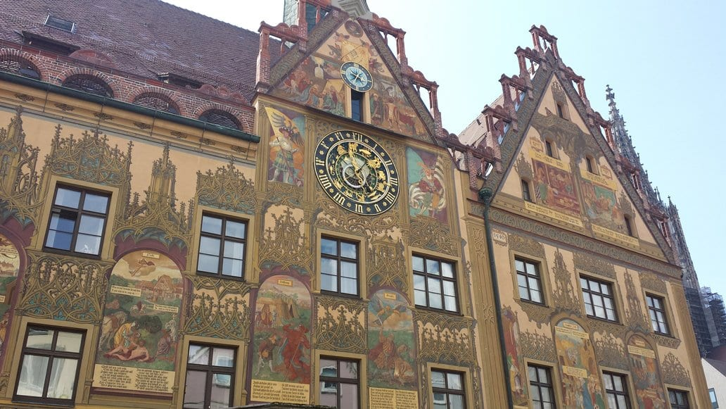 Town Hall in Ulm Germany