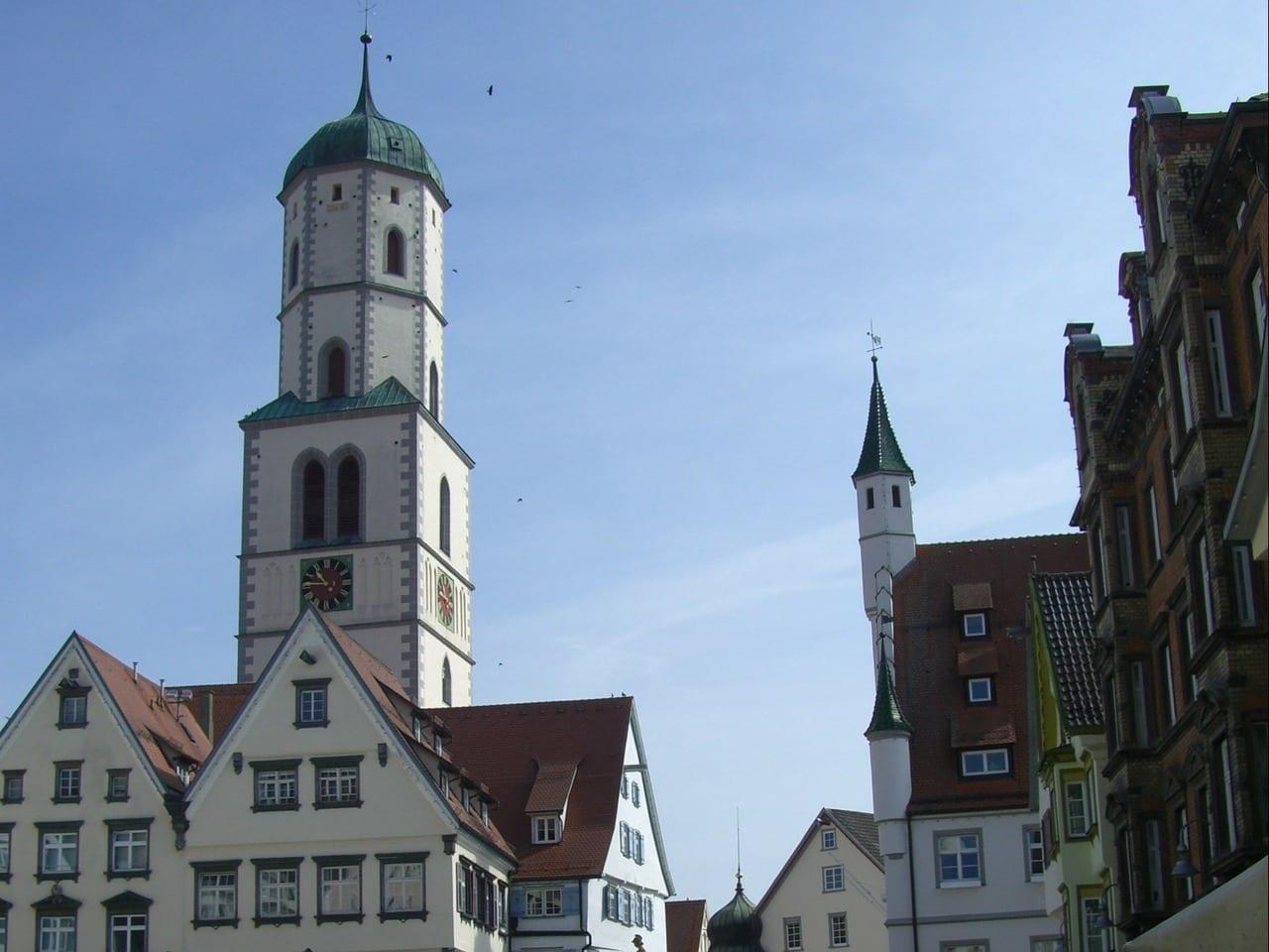 Biberach, Germany - a nice town to visit when cycling the Donau-Bodensee Radweg