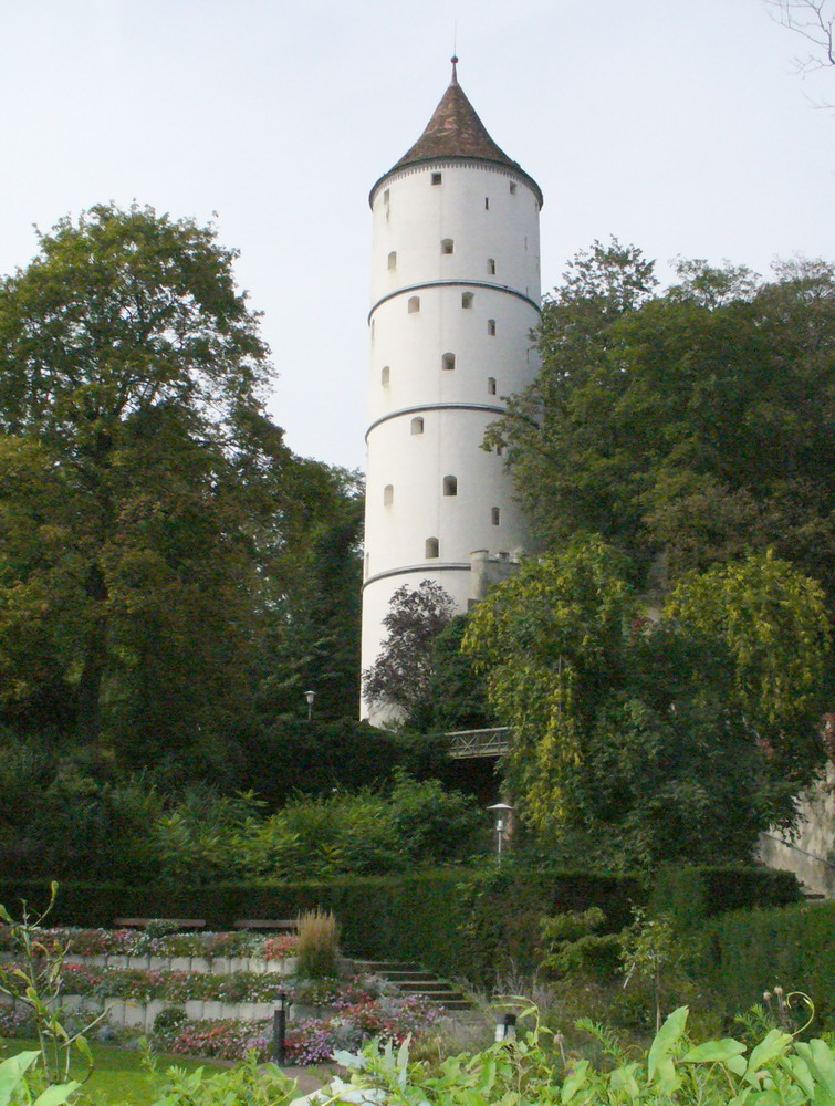 The White Tower in Biberach, Germany