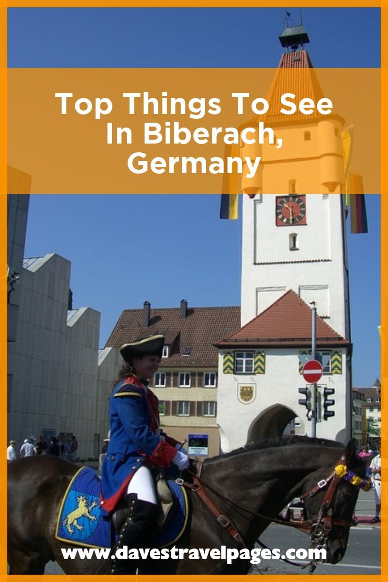 Top things to see in Biberach an der Riss in Germany