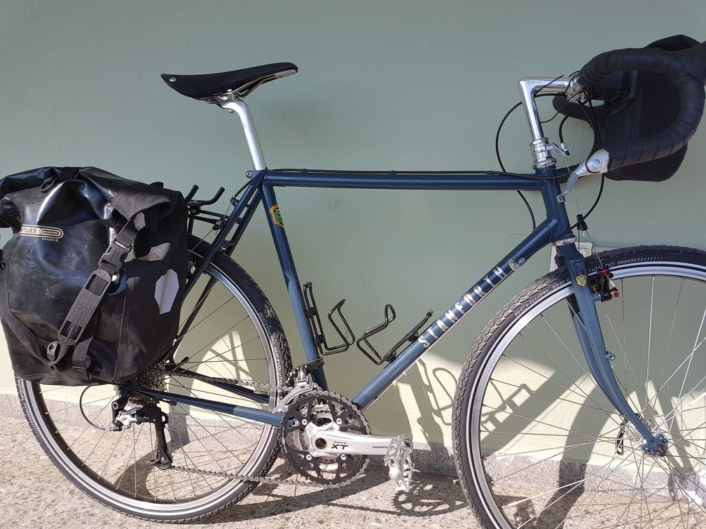 A bike touring gear list for credit card touring