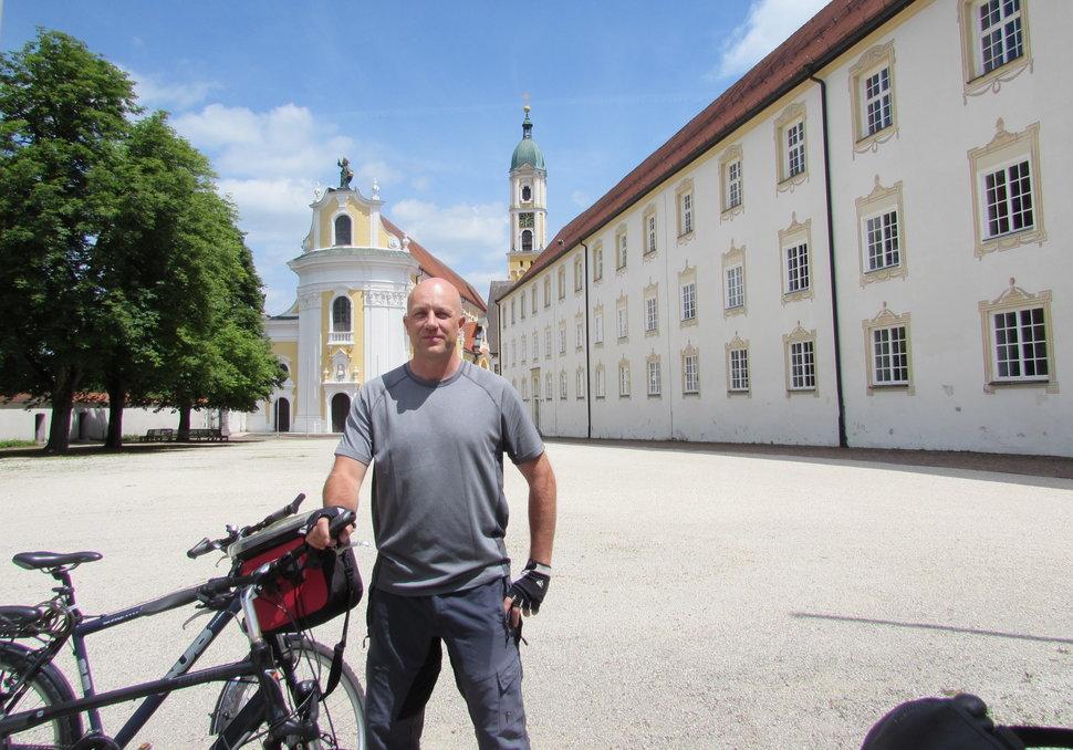 Dave in Ochenhausen Monastery